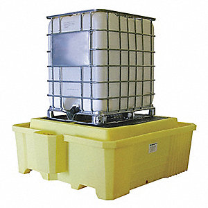 IBC Containment Unit,29-1/2 In. H,Yellow