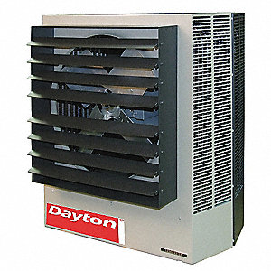 Electric Unit Heater, Vertical or Horizontal, Voltage 208/240, 45/60 kW, 3 Phase