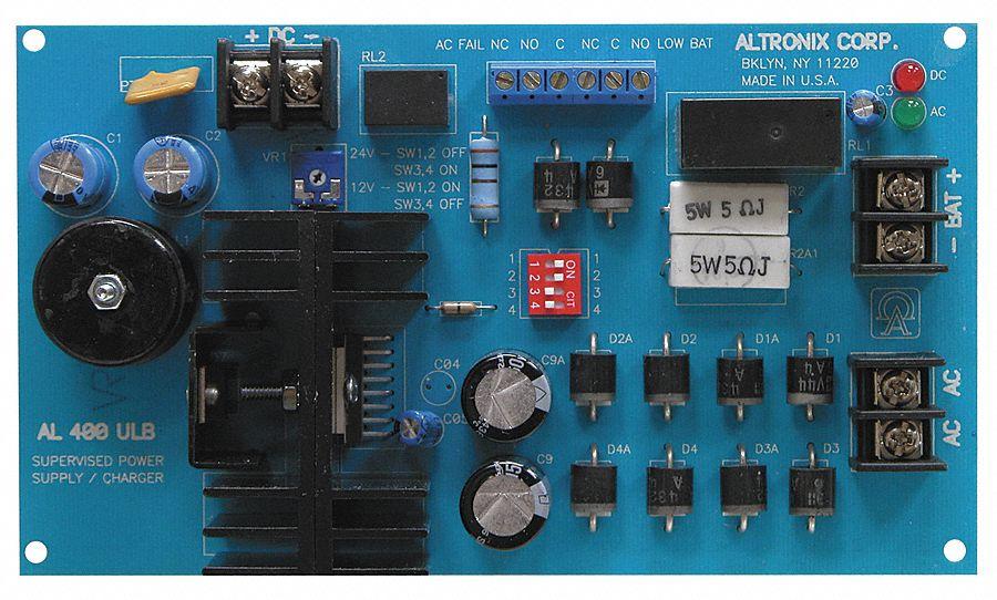 Altronix Phenolic Or Fiberglass Power Supply 12 24dc 4a