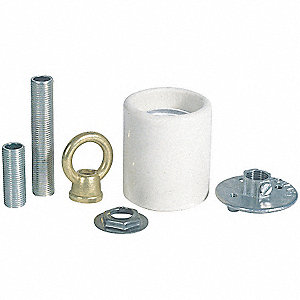 Socket Adapter Kit,Porcelain Keyless
