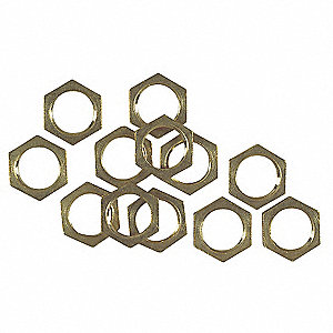 Hex Nuts, Tapped 1/8-IP,PK12