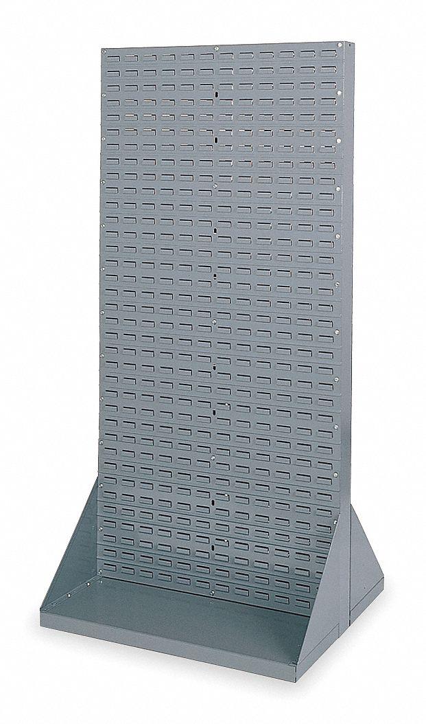 Akro Mils Louvered Floor Rack With 0 Bins 35 3 4 Quot W X 32 Quot D