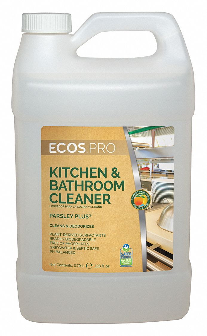 Earth Friendly Products Kitchen And Bathroom Cleaner 1