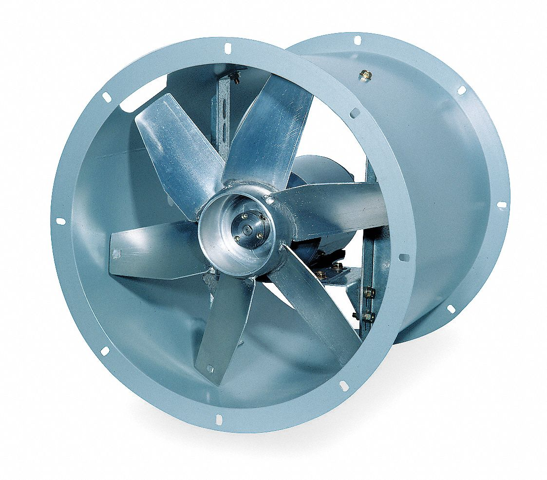 Dayton direct drive tubeaxial fan 18 in 115v 4tm83 for Dayton direct drive fan motor