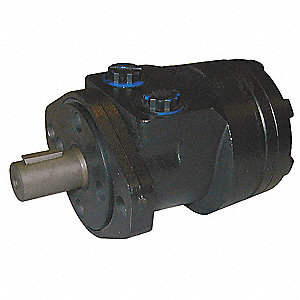 Hydraulic Motor,2.8 cu in/rev,2 Bolt
