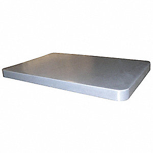 Cube Truck Lid,Gray,Fits 5 cu. ft.
