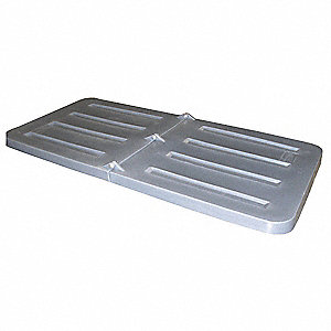 Tilt Truck Lid,Gray,Fits 9 cu. ft.
