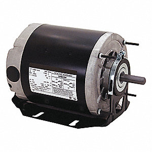 1/2 HP Belt Drive Motor, Split-Phase, 1725 Nameplate RPM, 115/208-230 Voltage, Frame 48Z