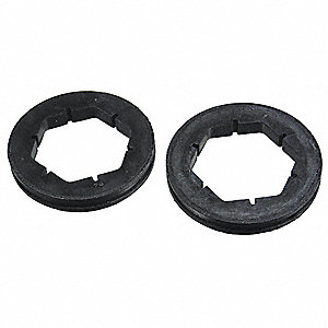 Motor Mounting Rings,2-1/2 Outside Dia. (In.),2 PK,For NEMA Frame 42 and 48