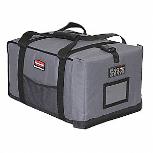 Insulated Carrier,18 1/4x 27x 16, Gray