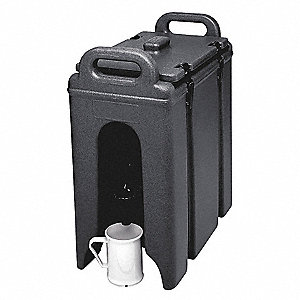Beverage Container,16 1/2x 9x 18,Black