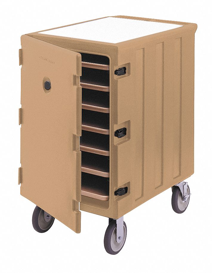 Cambro Insulated Transport Cart Tray Size In 18 X 26 Coffee Beige 4ujn7 Ea1826ltc3157