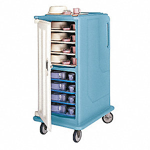 Meal Del. Cart,30 5/8x39 1/8x58 1/8,Gray