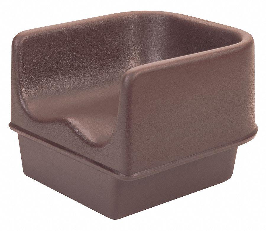 Cambro Single Booster Seat Dark Brown 22w905 Ea100bc1131 Grainger