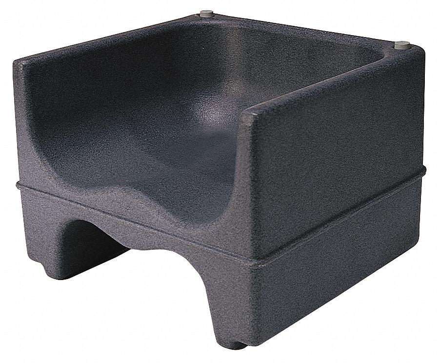 Cambro Dual Booster Seat Black Pk4 4ujr6 Ca200bc110 Grainger
