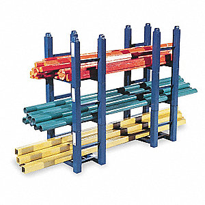 "Modular Stacking Rack, 20-1/2"" Height, 15"" Width, 5600 lb. Load Capacity"