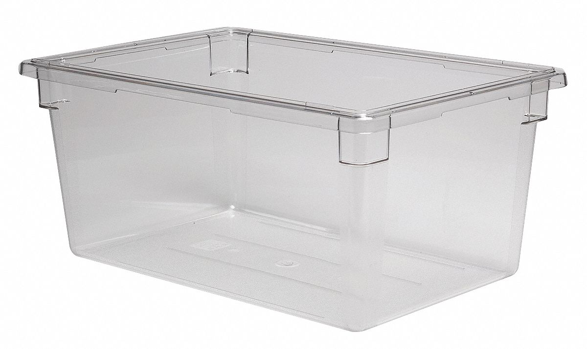Cambro 18 Quot X 26 Quot X 12 Quot Polycarbonate Food Box Clear 4ukc6 Ca182612cw135 Grainger
