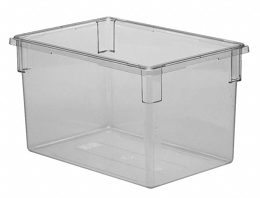 Cambro 18 Quot X 26 Quot X 15 Quot Polycarbonate Food Box Clear