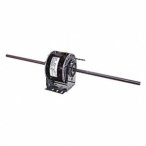 1/8 HP Room Air Conditioner Motor,Shaded Pole,1550 Nameplate RPM,115 Voltage,Frame 42Y