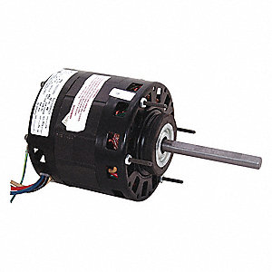 Century 1 6 Hp Direct Drive Blower Motor Shaded Pole 1050 Nameplate Rpm 115 Voltage Frame
