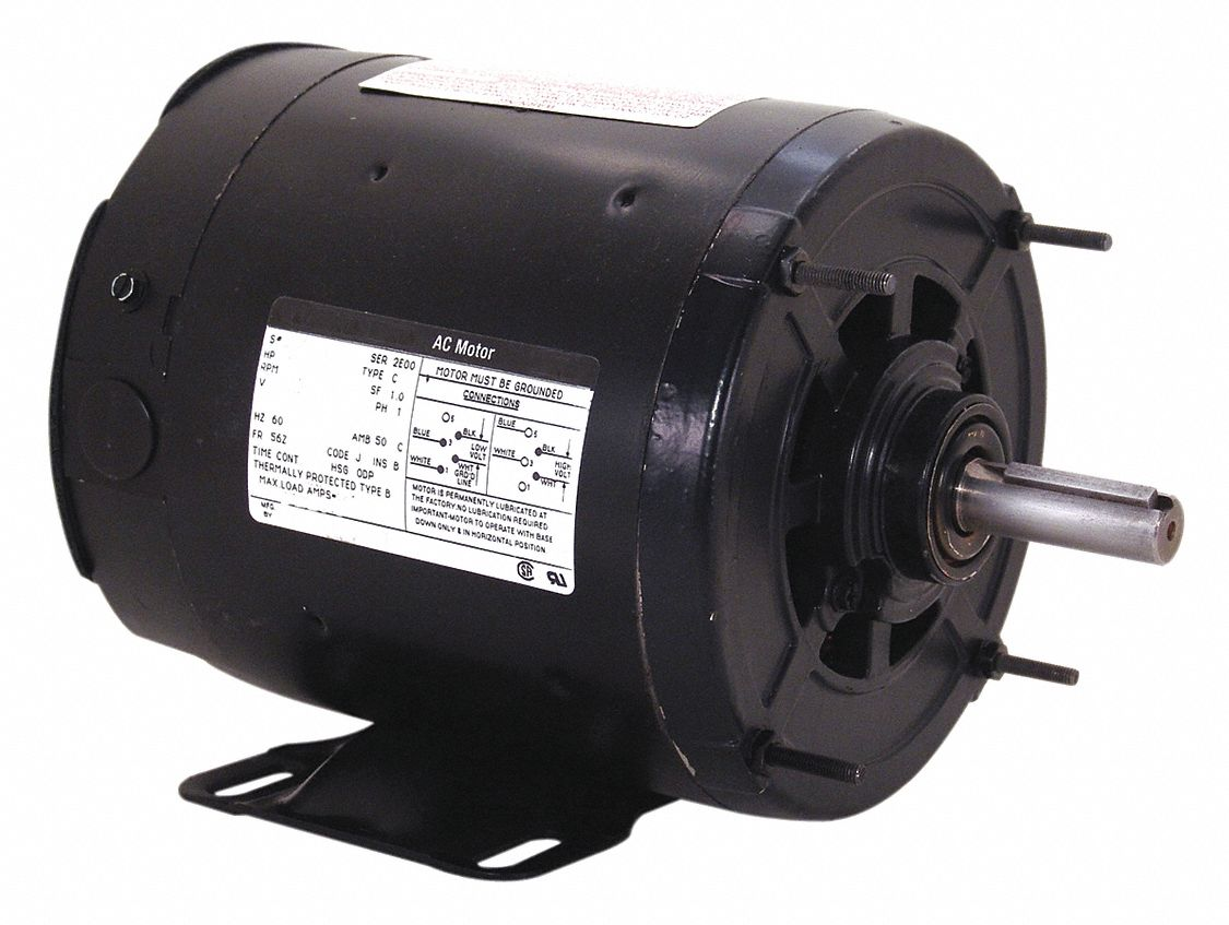 Century 1 3 hp transformer cooling fan motor 3 phase for Best lubricant for electric fan motor