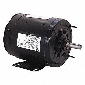1/3 HP Transformer Cooling Fan Motor, 3-Phase, 1140 Nameplate RPM, 200-230/460 Voltage, Frame 56