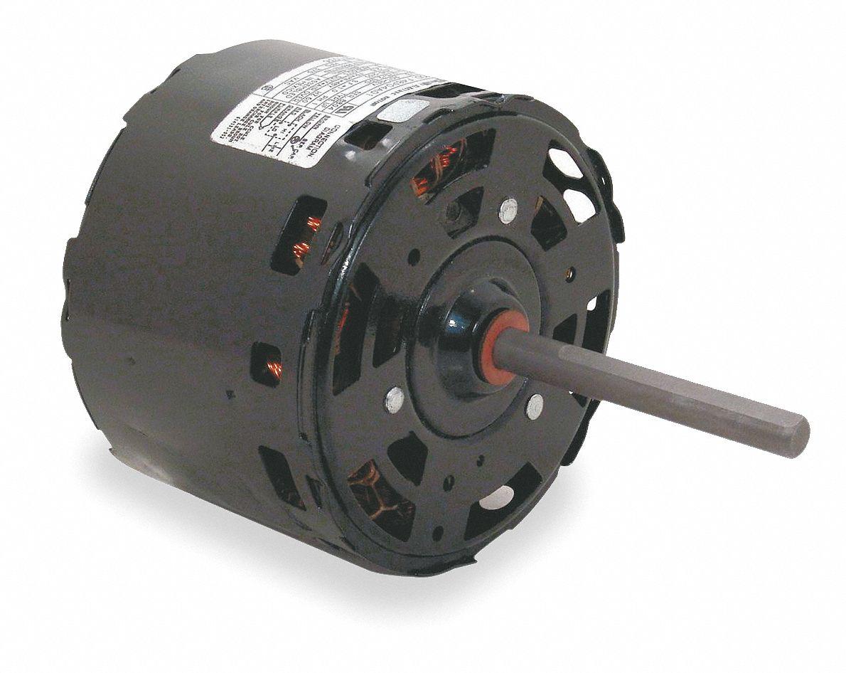 Century 1 4 hp condenser fan motor permanent split for Best lubricant for electric fan motor