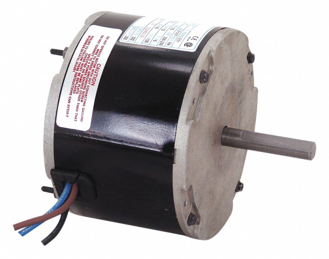 Century condenser fan motor permanent split capacitor for Compressor fan motor replacement
