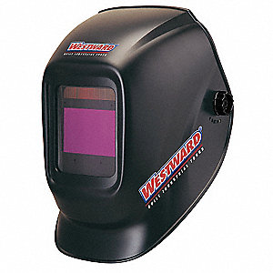 Auto Darkening Welding Helmet, Black, Solar, 9 to 13 Lens Shade