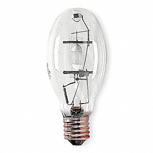 HID Lamp, Metal Halide Lamp Type, ED28 Bulb Shape, Enclosed Fixture Type, 250 Watts