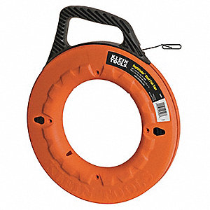 Marked Fish Tape,1/8 In x 240 ft,SS