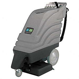 "Walk Behind Carpet Extractor, 10 gal., 115V, 100 psi, 20"" Cleaning Path"