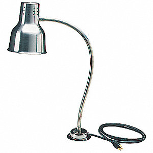 Heat Lamp, Free Standing,Includes Bulb