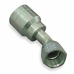 Hydraulic Hose Fitting, 45 Degree, 5/8