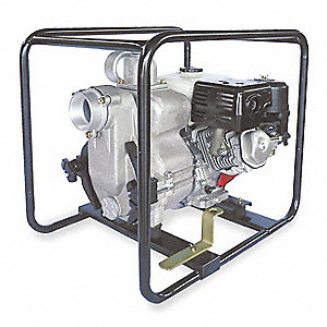 8 HP Aluminum 242cc Engine Driven Centrifugal Pump, 6.4 qt. Tank Capacity