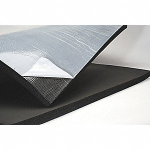 Insulation Sheet,PSA Back,36x48x1 In
