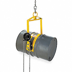 Vertical Drum Lifter/Dispenser,w/Chain