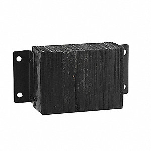 "Dock Bumper, 14-3/4"" Overall Width, 10"" Overall Height, 6"" Overall Depth"