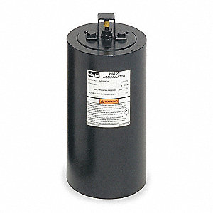Piston Accumulator,1.5 Gal,1 5/8-12 SAE