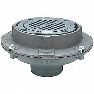 Zurn Cast Iron Round Floor Drain No Hub Connection 4