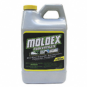 Mold Mildew Remover, 64 oz. Spray, 1 EA