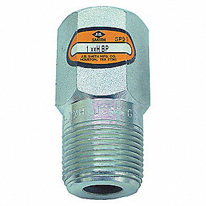 Hex Head Bull Plug,1 In,NPT,Steel