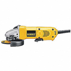 "4-1/2"" Angle Grinder, 9 Amps"