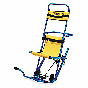 Stair Chair,400 lb. Cap.,Blue