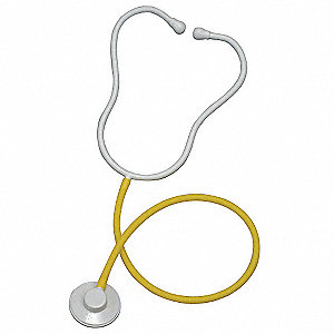 Stethoscope,Single Use,Adult,Yellow