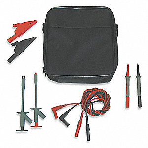 Test Lead Kit, For Use With Multimeters and Clamp On Ammeters