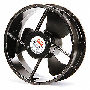 "Round Axial Fan, 10"" Fan Dia., 115VAC Voltage"