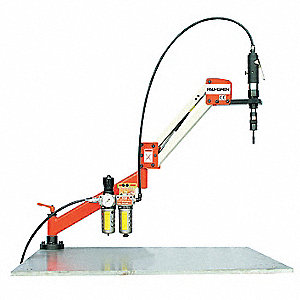 "Air Tapping Arm, 700 rpm Free Speed, 16 ft.-lb. Torque, 43"" Reach"