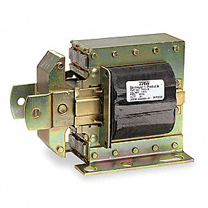 "Solenoid, 115VAC Coil Volts, Stroke Range: 1/4 to 1-1/4"", Duty Cycle: Intermittent"