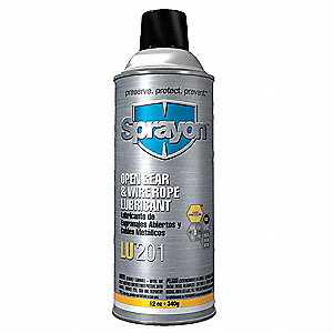 Open Gear and Wire Rope Lubricant, 16 oz. Aerosol Can